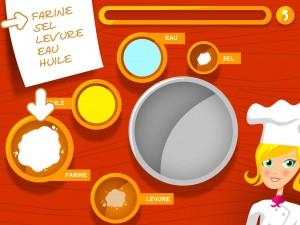 Pizza Factory for Kids Alexandre Minard AR Entertainment iPad iPhone application tablette Enfant La Souris Grise 4