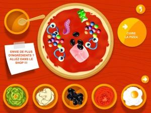 Pizza Factory for Kids Alexandre Minard AR Entertainment iPad iPhone application tablette Enfant La Souris Grise 6