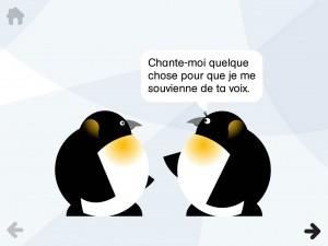 Paul le Manchot Gallimard Jeunesse iPhone iPad application enfant La Souris Grise 1