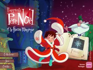 Apprenti Père Noel  application enfant La Souris Grise 1