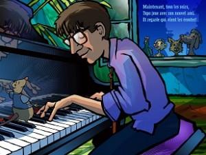 Le piano de Topo 5