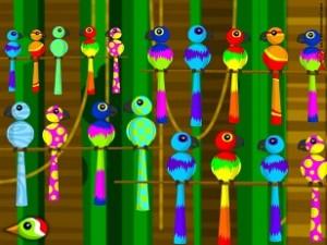 Birds birds birds Poisson Rouge 1