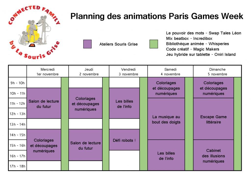 Plannig animations PGW